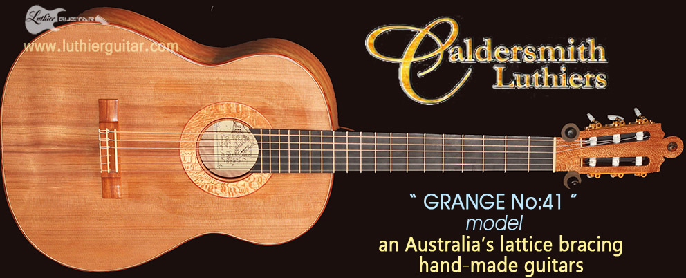 Luthier Guitar Caldersmith Aussie Lattice Bracing Guitar