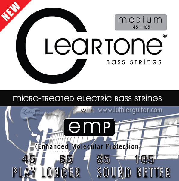 luthier guitar cleartone strings emp patented electric bass enhanced molecular protection. Black Bedroom Furniture Sets. Home Design Ideas