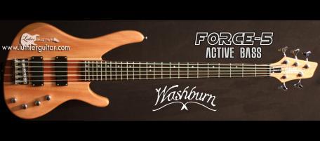 luthier guitar force 5 washburn bass guitar. Black Bedroom Furniture Sets. Home Design Ideas