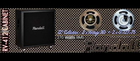 Luthier Guitar - Randall Guitar Amplifiers > RV Series > RV