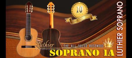 Luthier Guitar - Luthier Classical Guitars > Soprano Guitar ...
