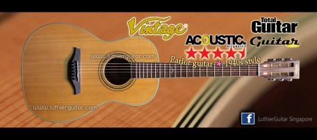 Luthier Guitar - Vintage British Guitars > V880 Series